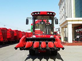 Small Five-line Corn Harvester